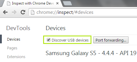 Zymr - Checking discover USB devices