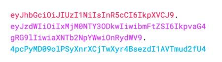 encoded into a token