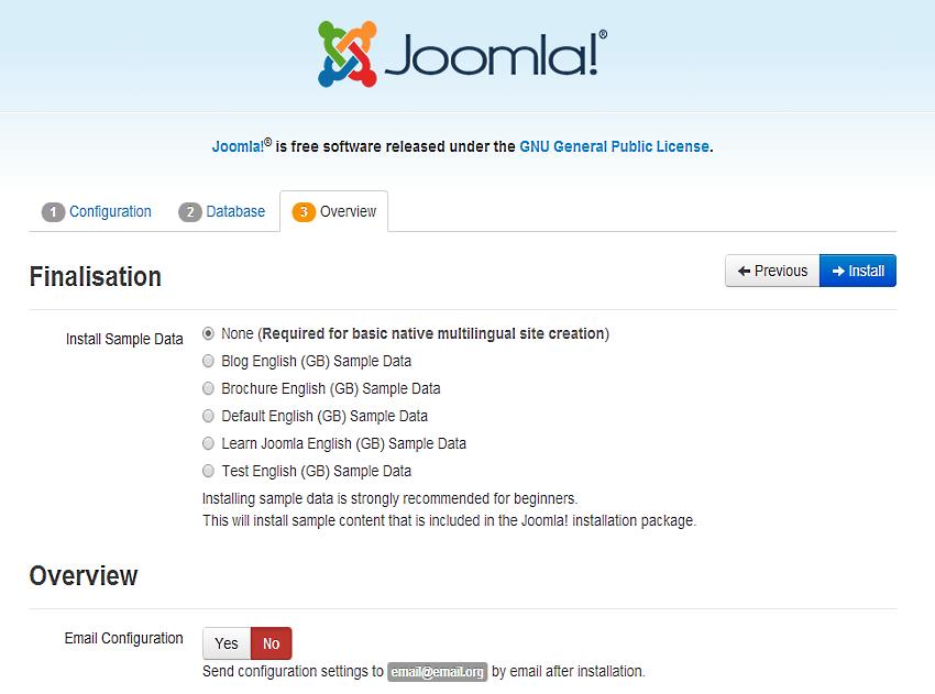 Joomla Overview