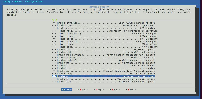 Openwrt Config