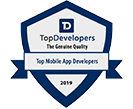 Top Mobile App Developers Recognition
