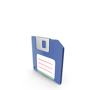 1 Floppy Drive