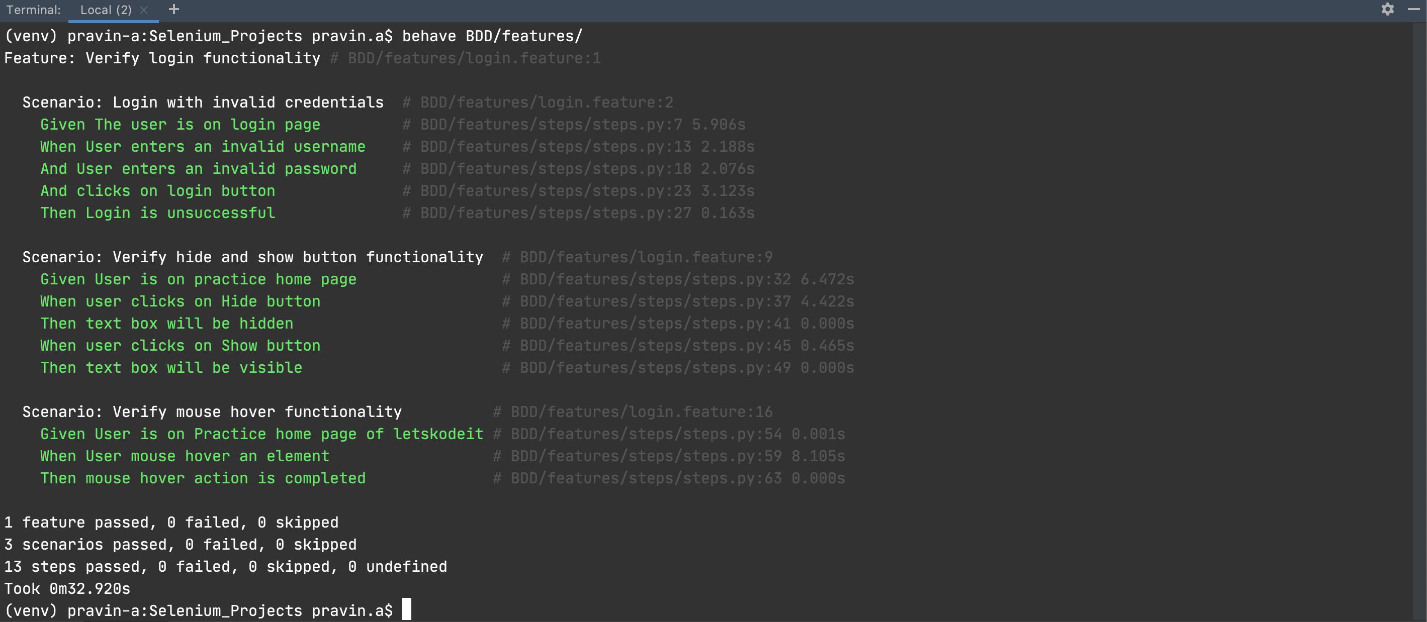 Selenium_Projects